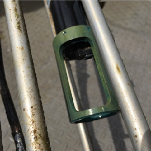 Turbidity-meter-Anti-biofouling-probe-installation